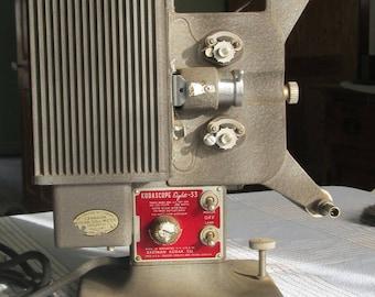 Kodascope Eight-33 Movie Projector 8 mm Canadian