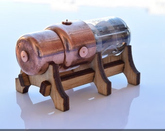 Pentode 8/16/32/64/128GB  USB flash drive with stand ( Without backlight). Industrial/Steampunk Art !!! Stand and shipping for FREE!!!
