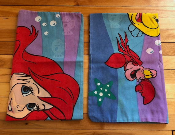 vintage 1990s walt disney the little mermaid ariel sebastian