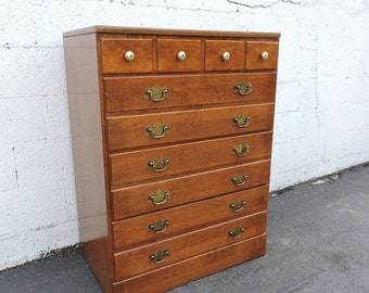 Ethan Allen by Baumritter Maple Chest of Drawers 7831