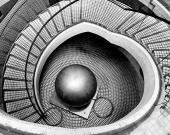 AA/ MC Escher,surreal photography,architecture photography,abstract modern urban,San Francisco photography,black and white photography