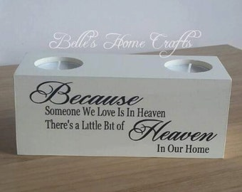 Tea light Candle, Memorial candle, remembrance candle