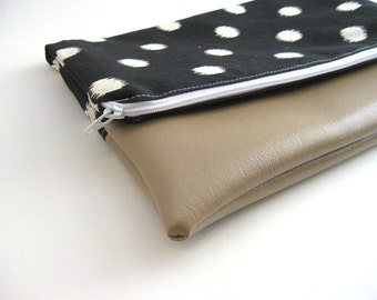 Foldover Clutch | Clutch Bag| Purse | Vegan Bag| Vegan Handbag| Foldover Bag| Vegan Purse| Bridesmaid Gift| Gift for her| Gift for Wife