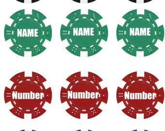 Poker Chips Edible Images | Customize | Shore Cake Supply