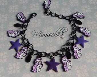bracelet little poney little stars