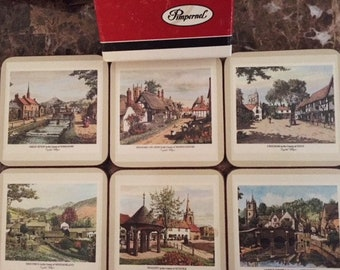Pimpernel English Coaster Set
