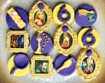 Rapunzel Chocolate Covered Oreo's, Tangled, Princess