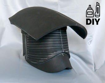 DIY Star Wars: The Last Jedi - Praetorian Guard helmet template for EVA foam