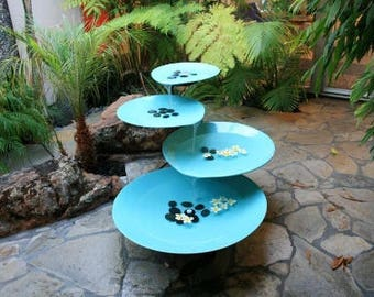 Water fountain etsy for Mid century modern water feature