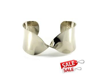 Wide Silver Cuff Bracelet Wide Silver Bracelet Cuff Wide Brass Cuff Bracelet Brass Bracelet Cuff Wide Cuff Bracelet Wide Bracelet Cuff 105