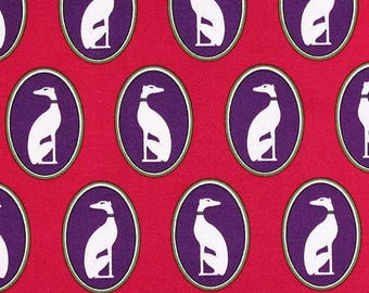 FABRIC, Country, Chic, dog, Greyhound, country decor, quilt, a pink ring