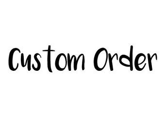 Custom Onesie or Childs Shirt Order
