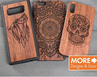 iPhone 6 Case, iPhone 7 Case, Wooden Phone Case, Cool Phone Case, Wood Phone Case, Animal Case, Samsung s7, S8, Custom case, Deer Design