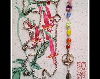 "Yogi, boho, chakras ""Strong Soul"" necklace"