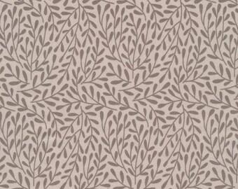 Dancing Vines Gray - Organic Cotton Poplin- Morning Song Collection (5208.52.00.90)