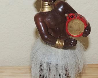 Vtg Tribal Native Figurine