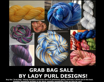 GRAB BAG SALE! Sock Yarn Edition