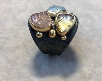 Trio roman ring