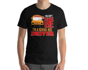 You Cant Scare Me Im A School Bus Driver T-shirt-Bus Driver Gift Idea-School Bus Driver Shirt-School Bus T-Shirt-School Bus Driver Shirt-Bus