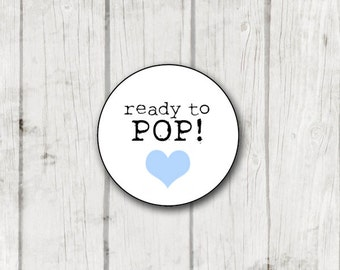Ready to Pop! digital stickers - instant download - ready to print stickers