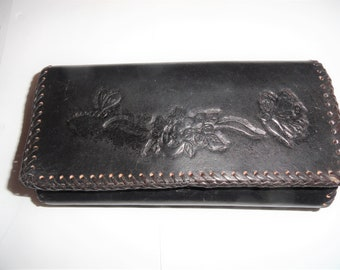 Hand made Clutch Purse Engraved