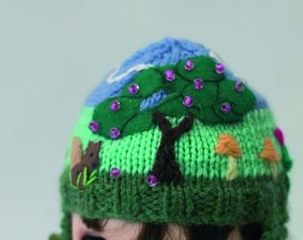 Hand Knitted Blythe Helmet