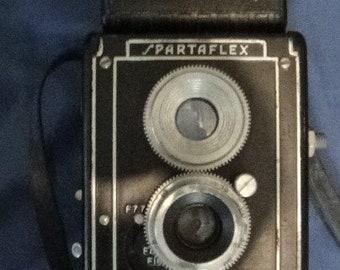 Vintage Spartaflex TLR Camera