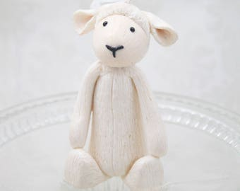 Baby's Favorite Stuffed Animal Replica Ornament - First Birthday - Clay Ornament Shop