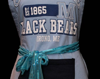 Black Bears UMaine Apron - University of Maine Apron - Football Apron