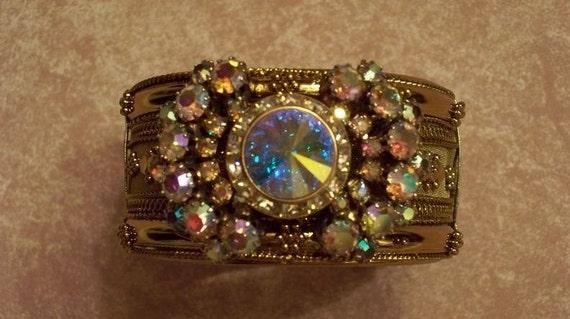 Diamonds and Rust Vintage Designer Bracelet