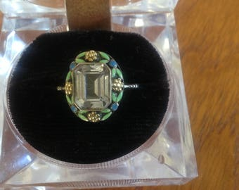 Bernard Instone Enamel ring