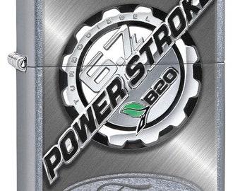 Ford Truck Powerstroke Zippo Lighter