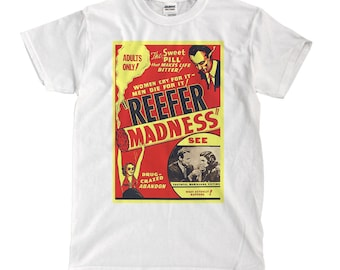 Reefer Madness - White T-shirt