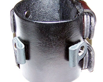 Item 102812 The Kopelson Leather Watch Cuff
