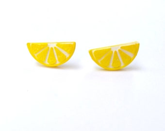 Lemon Slice Studs