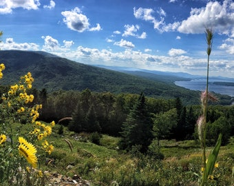 Height of Land Pano - Rangeley, Maine - Photography