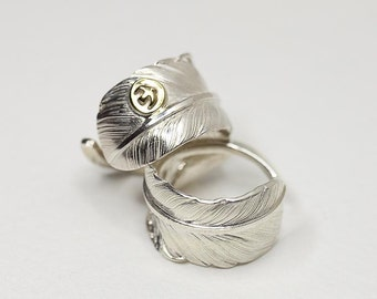 Silver Feather Ring   Feather Wrap Ring   Native American Inspired   Adjustable Ring   Gold Bird Ring   Thunderbird Ring   Wide Silver Ring