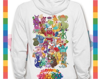 Kawaii Universe - Cute Amazing Animals  A to Z  Designer Hoody / Sweater (Unisex)