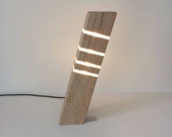 Modern Table Lamp In Wood Stylish Sleek