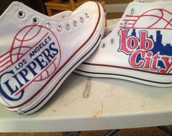 NBA Clippers Converse Shoes