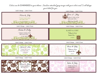 Soap Favor Labels - Soap Favor Tags - Bridal Shower Favor Tags - Personalized Label - Shower Favor Tags - Custom Labels