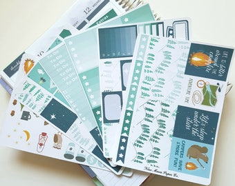 Planner Stickers - Under the Stars