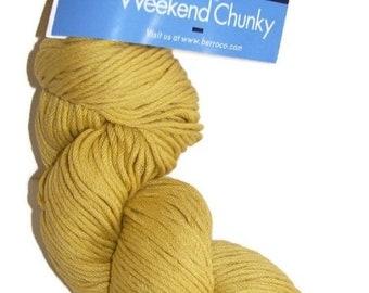 ON SALE Chunky Cotton Blend Yarn Berroco Weekend 1 Skein 6964