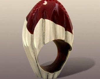 On Sale.SENEGAL  RING. Slver Art.