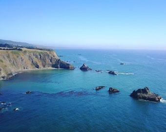 Aerial Photography of the Northern California Coast