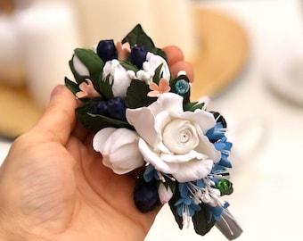 Bridal Hairpiece, Bridal Headband, Bridal Hair Accessory, Wedding Hairpiece, Flower Girl Hairpiece, Flower Wreath, Bridal Wreath, Headpiece