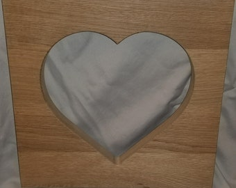Handcrafted Wooden Heart Silhouette