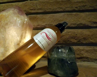 """Natural Eucalyptus, Peppermint and Lemon Grass Insect Repellent  """"No See Ums Magic Potion""""  8 oz Spritzer Bottle Spray"""