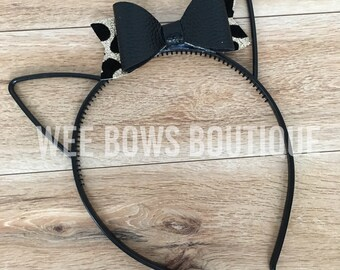 Toddler Kitty Bow Hairband