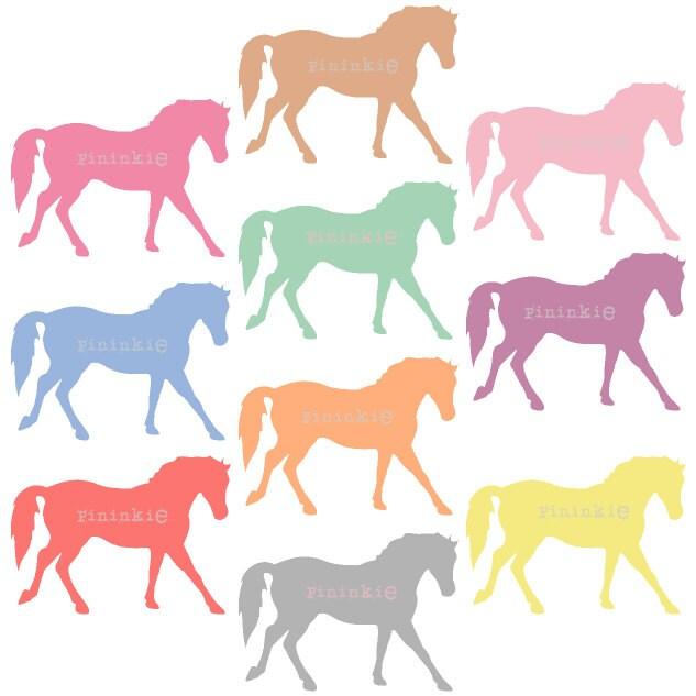 pony clip art digital clip art horse clip art pastel rh etsy com free vector clipart commercial use copyright free clipart for commercial use
